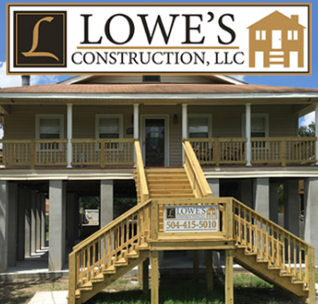 home elevation in Lake Charles, Louisiana